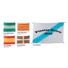 bandera de españa con enganche