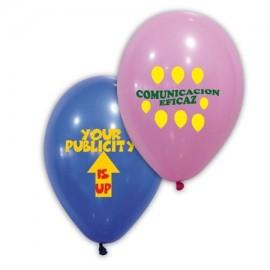 globos con logo 30 cm