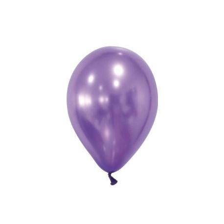 globos matalizados con logo de 30 cm