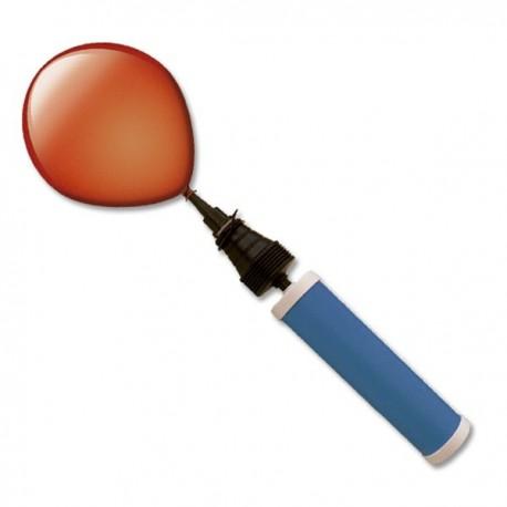 inflador para globos manual