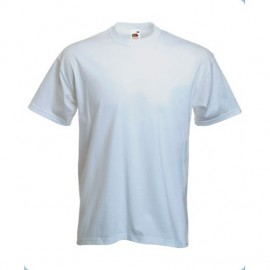 camiseta fruit of the loom t-heavy blanca