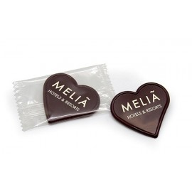chocolate corazon personalizado con logo