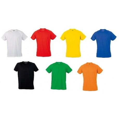 camiseta tecnica poliester lus