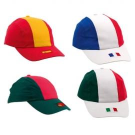 gorra banderas paises