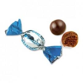 napolitana de chocolate con logo