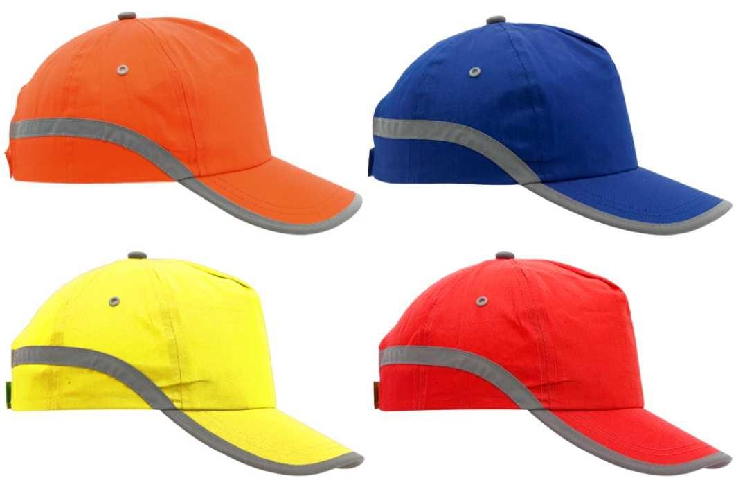 gorra banda reflectante personalizada 2fbd5e43844