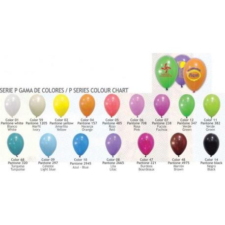 globos con logo 25 cm