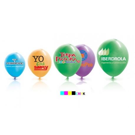 globos con logo 29 cm