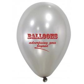globos metalizados con logo 25 cm