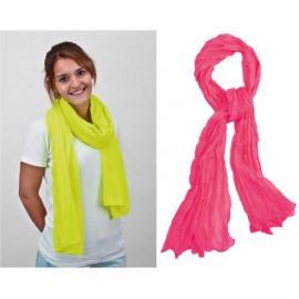 foulard fluorescente