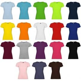 camiseta de chica manga corta