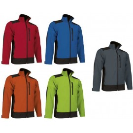chaqueta softshell sapon