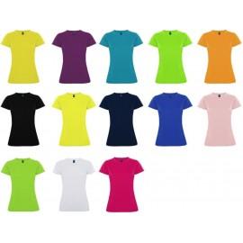 camiseta de chica tecnica entallada