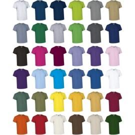 camiseta colores lisos