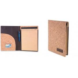 portafolios con bloc de corcho