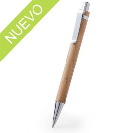 Bolígrafo bambú carga jumbo