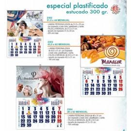 calendario faldilla mensual diferentes tamaños