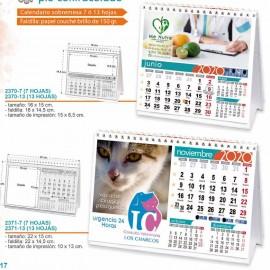 Calendario sobremesa personalizados con foto