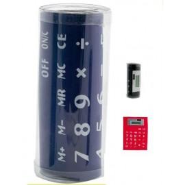 calculadora de oficina solar imantada flexible