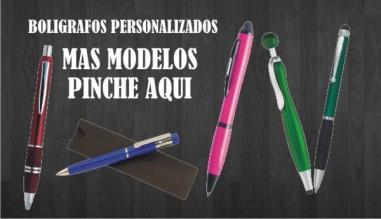boligrafos personalizados con su publicidad como regalos de empresa y regalos promocionales